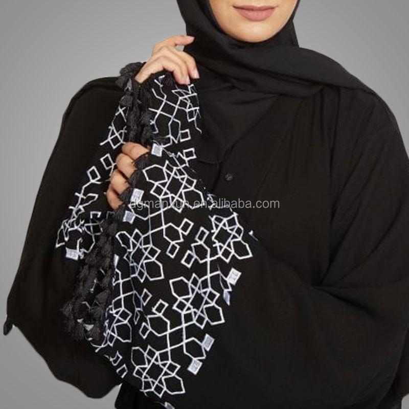 100% polyester muslim kimono cardigan