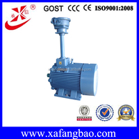 china explosion electric motor for fan 200kw ac 3 phase motor 740r/min