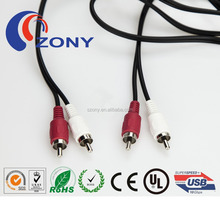TOP sale 2rca to 2rca vga to cable rca