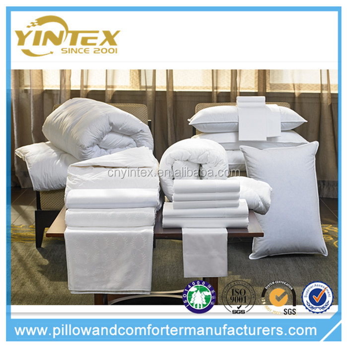 Yintex High Quality White Duck Down Duvet Bedding Comforters for Home Hotel