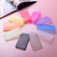 0.3mm ultra thin PP soft matt phone case for iphone 4 4S back cover case