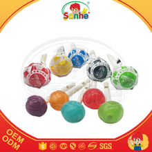 High quality 10g mix fruity flavour lollipop with whistle stick sweet candy
