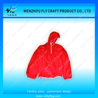Custom China wholesale foldable lightweight hiking jacket