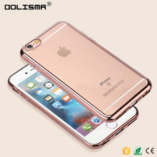 Wholesale China Electroplate Mobile TPU Phone Case For iPhone 6 6S