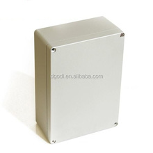 small square shape motorcycle aluminum box