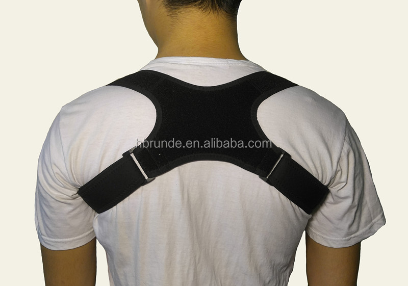 Medical equipment for back pain high elastic posture correction belt / clavicle brace with CE FDA approved