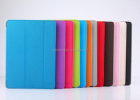 Cross-line PU leather case for ipad air 2 smart flip case cover