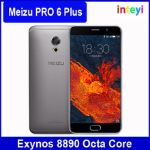 NEW Original Meizu Pro6 Plus Pro 6 Plus Exynos 8890 Octa Core Mobile Phone 5.7inch 2K Screen 12.0MP 4G LTE Android Cell Phone