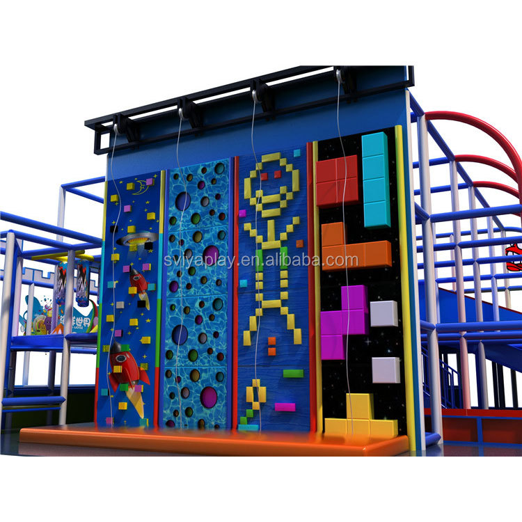Factory wholesale customize fashion style Indoor kids playground equipment