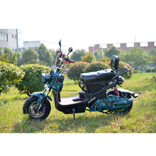 60v 1000W 2 wheel electric standing moped with pedal