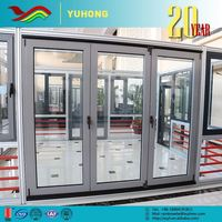 Used Aluminum Frame Glass Swing Commercial Door