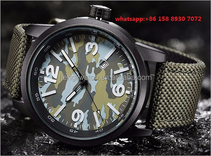 Casual hansome quartz men's watches with cloth strap FS508