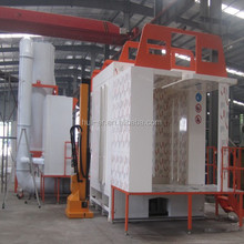 2015 Automatic Small Cyclone Powder Coating System/Electrostatic Powder Coating Chamber