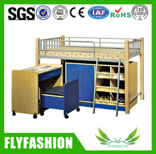 Popular Wooden Latest Bed Designs Bunk Bed For Sale