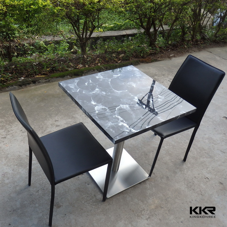 kkr italian marble dining table outdoor restaurant tables