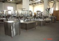 MT-1000 automatic bottle washing filling capping machine