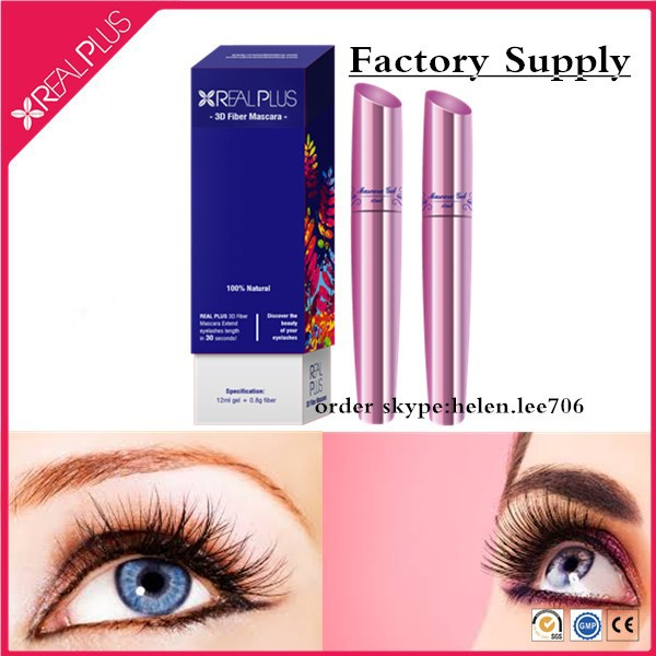 Excellent sales agents wanted worldwide to sell REAL PLUS eyelash volumizing mascara , 3d fiber mascara