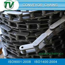 Double pitch cottered type transmission roller chain with attachment 208A/210A/212A/216A/220A/224A/208B/210B