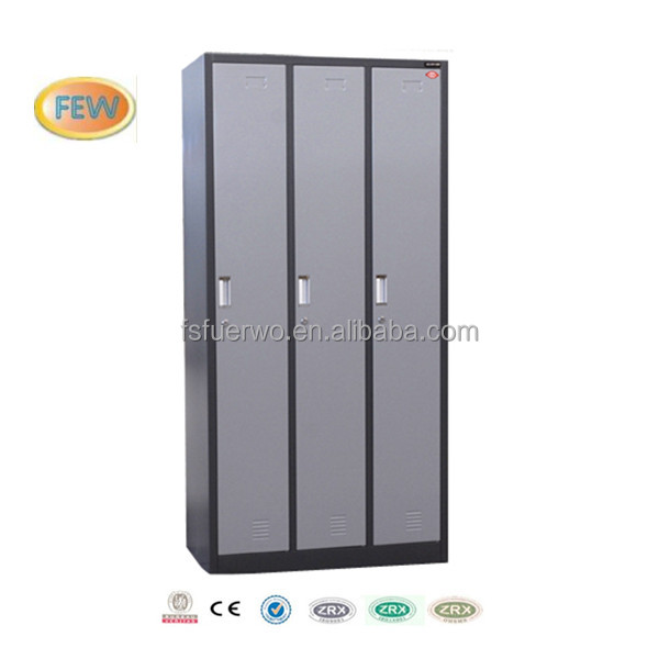 Cheap Metal 3 Doors Clothing Locker For Changing Room