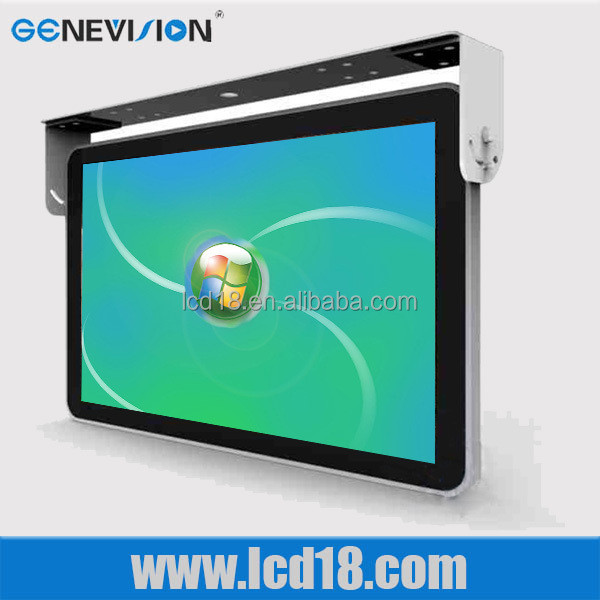 "av input with 15"" Powerful usb port flat <strong>screen</strong> Bus tv monitor"