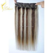 New arrival factory price mix color flip high quality in hair extension