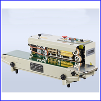 Automatic Continuous Plastic Bag/Film/Foil Sealing Machine,plastic sealing machine price