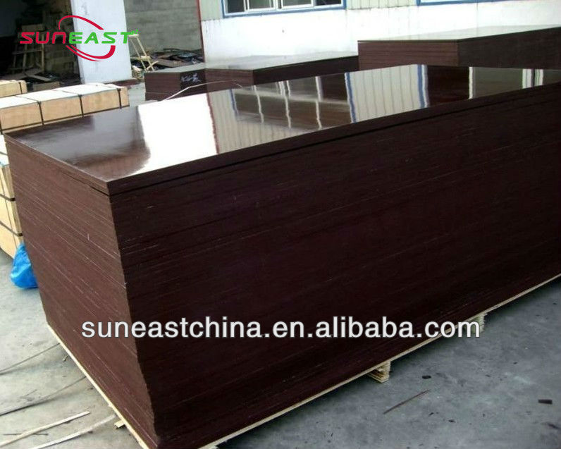 film phenolic plywood, film faced waterproof shuttering plywood, waterproof film coated plywood