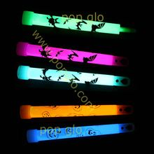 custom printed 6'' glow sticks