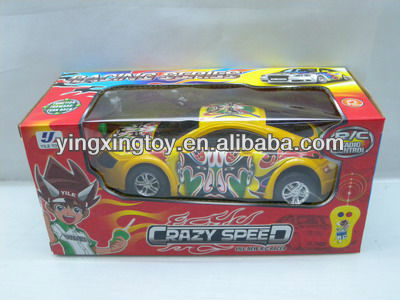 New plastic 2CH cartoon rc toy car