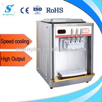 Counter top commercial ice cream machine for sale ICM-T112