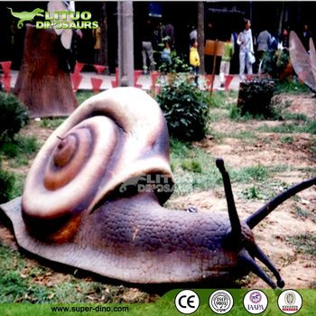 Large Insect Exhibiton Giant Snail Model
