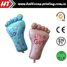 [HOT] Big Feet Balloons Baby Shower Decoration Helium Balloons