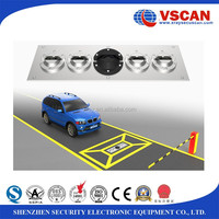 Colored Under Vehicle Inspection System To