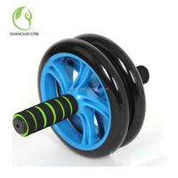 High Density Ab Adult Fitness 4 Scooter Rolling Exercise Wheel