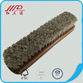 Luxury shoe brush boot scrubber made in china, horsehair boots cleaner for sale