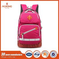 New Fashion leisure school bag backpack for girl