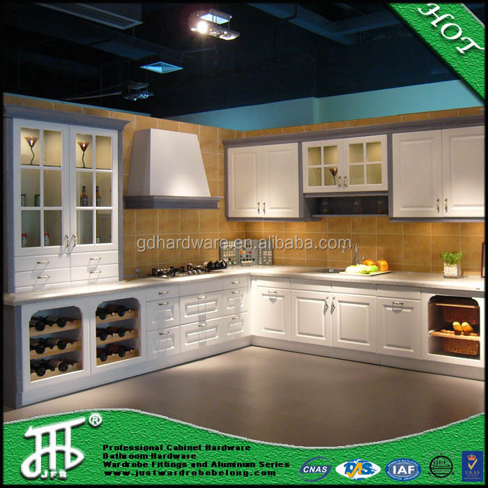 Good value for the money pvc membrane kitchen cabinet