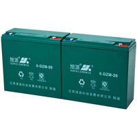 lithium bike battery lead acid 12v tubular battery QS CE ISO