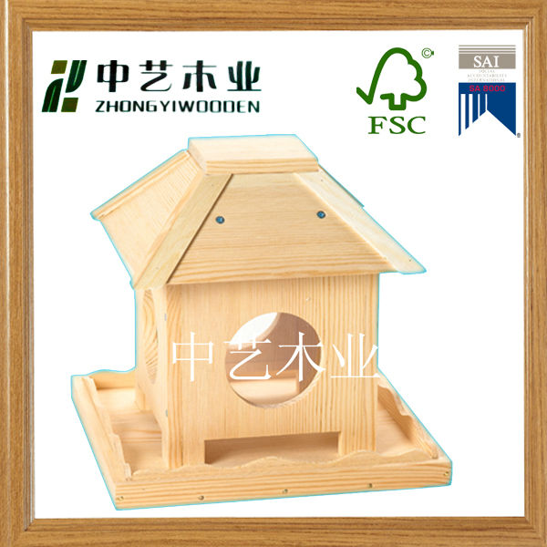 FSC&SA8000 antique wooden bird cage for sale