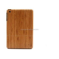 Cheap goods from china real natural Wood&bamboo case natural for ipad mini wood case wholesale alibaba