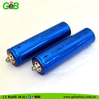 GEB40152S 3.2V 15Ah high rate cylindrical LiFePo4 rechargeable battery for electric vehicle / UPS/ EV and solar battery system