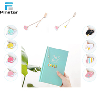 New fashion style korean metal pendant enamel bookmark