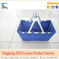 Customized collapsible shopping basket , picnic basket