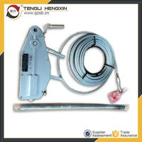 Cable pulling winch machine equipment