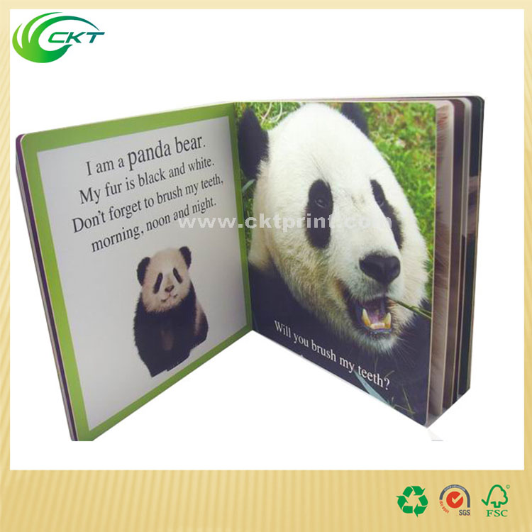 wholesale High quality English educational story books cardboard children child book printng