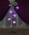 handmade crystal beaded flower stand pillar candle stands wholesale