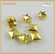SRS2013069 gold cap prong ring snap button