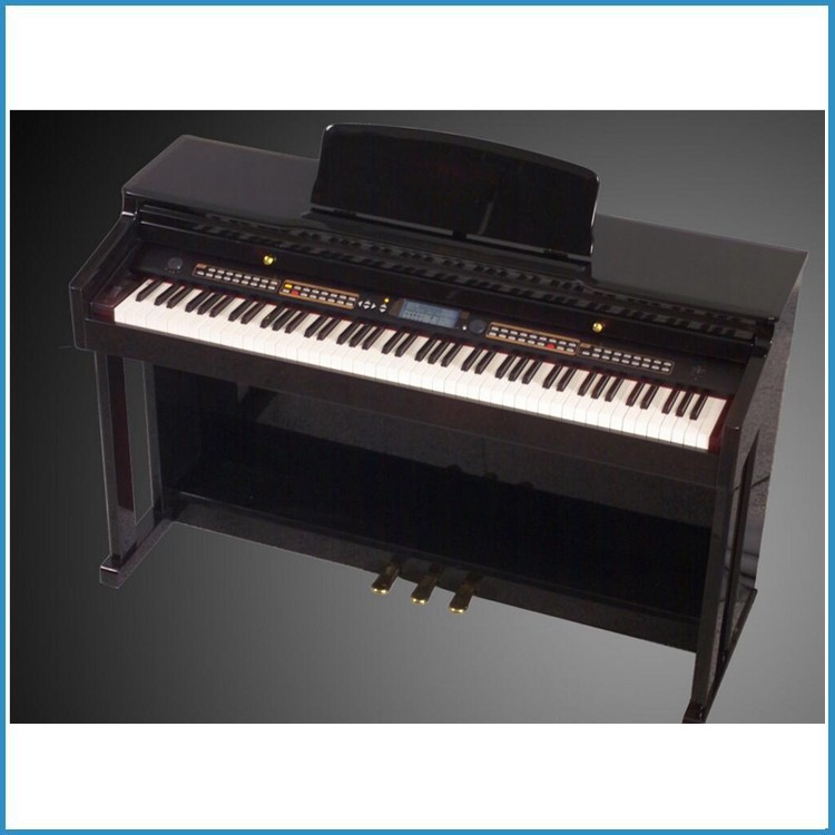 hammer effect 88 keyboard digital electric piano with sustain pedal