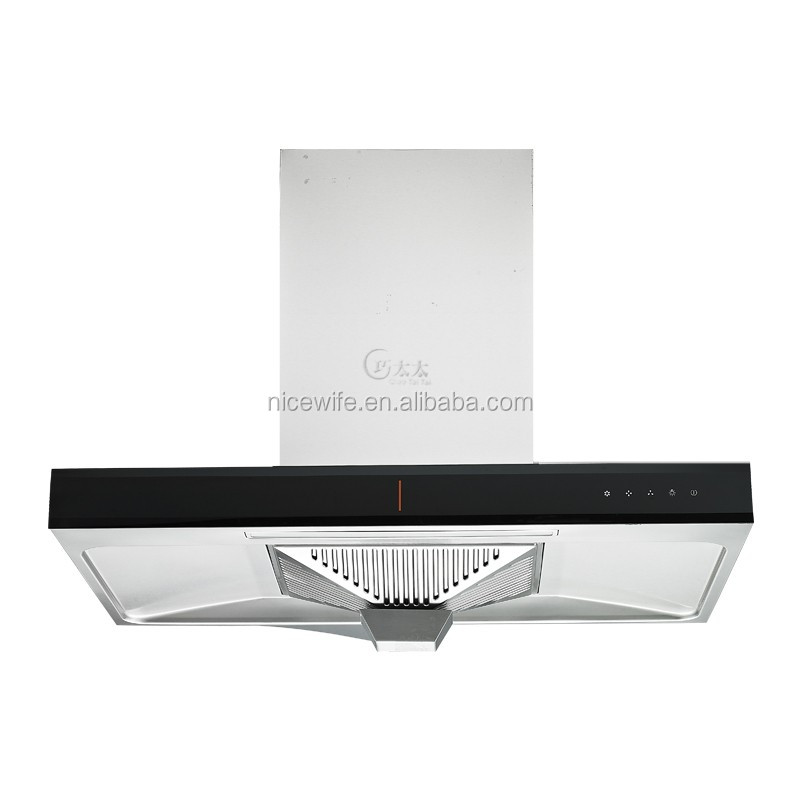 "220V 180W 36"" stainless steel wall mount chinese kitchen exhaust range hood/kitchen hood QTT-A797"