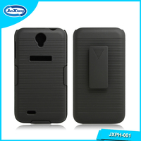 New swivel belt clip hard mobile phone case for lenovo a850